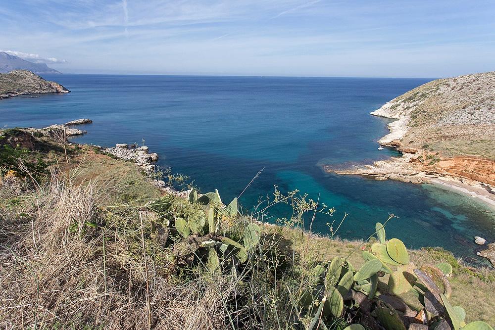 sicily area information discover scopello holiday villa seaside coastline rocks