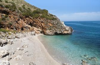 sicily area information discover scopello holiday villa seaside coastline cala craperia