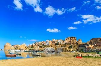 sicily area information discover scopello holiday villa seaside coastline castellammare port