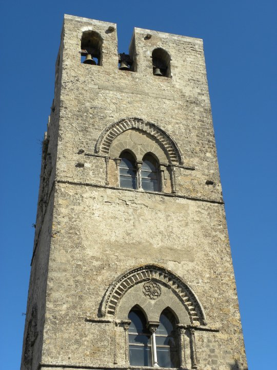 sicily area information discover erice bell tower architecture panorama holiday villa