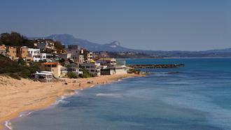 sicily area information discover selinunte holiday villa seaside coast beach