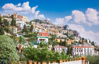 sicily area information discover taormina holiday villa rooftop panorama