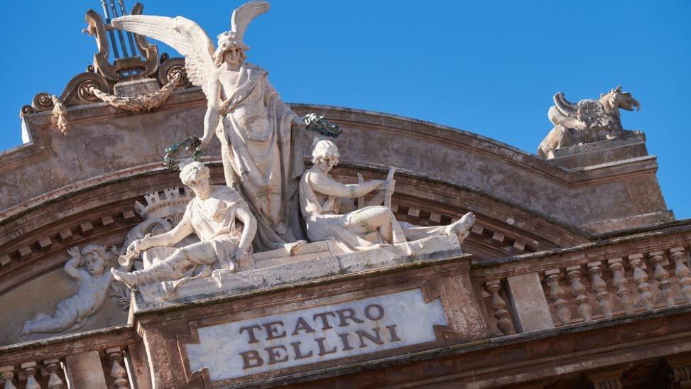 sicily guide teatro bellini catania art and culture opera season world famous