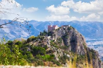 sicily area information discover mondello holiday villa castle mount pellegrino landscape